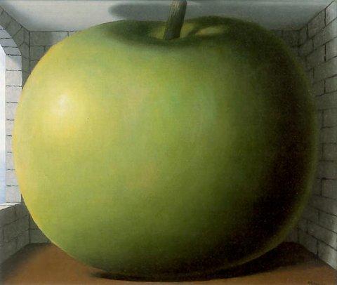 Rene Magritte >> The Listening Room.