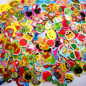 Sack Sticker Grab Bags