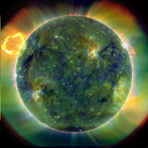 AMAZING NASA Solar Dynamics Observatory via sdo.gsfc.nasa.gov